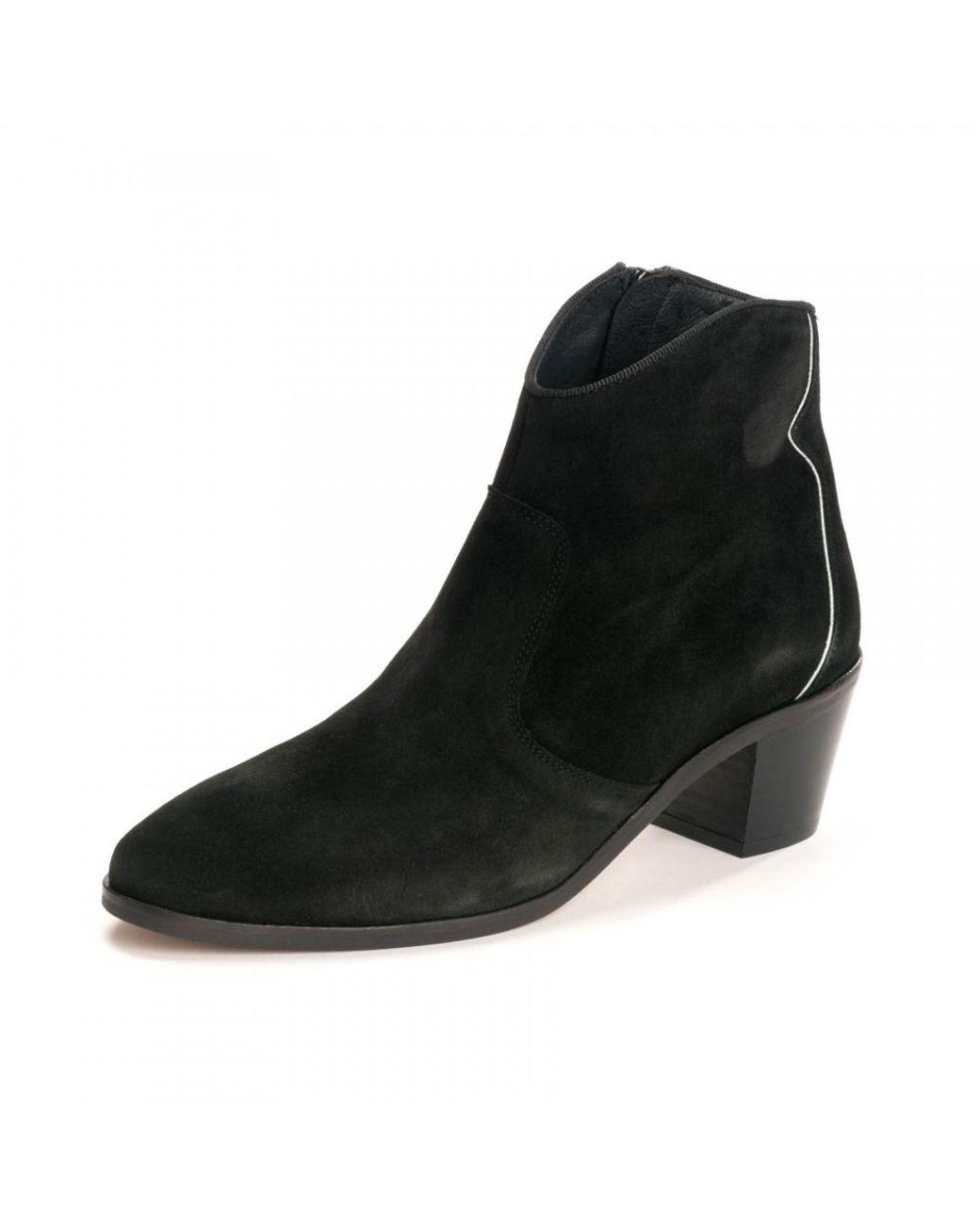 Kanna Sara Baby Silk Boot in Black Lyst