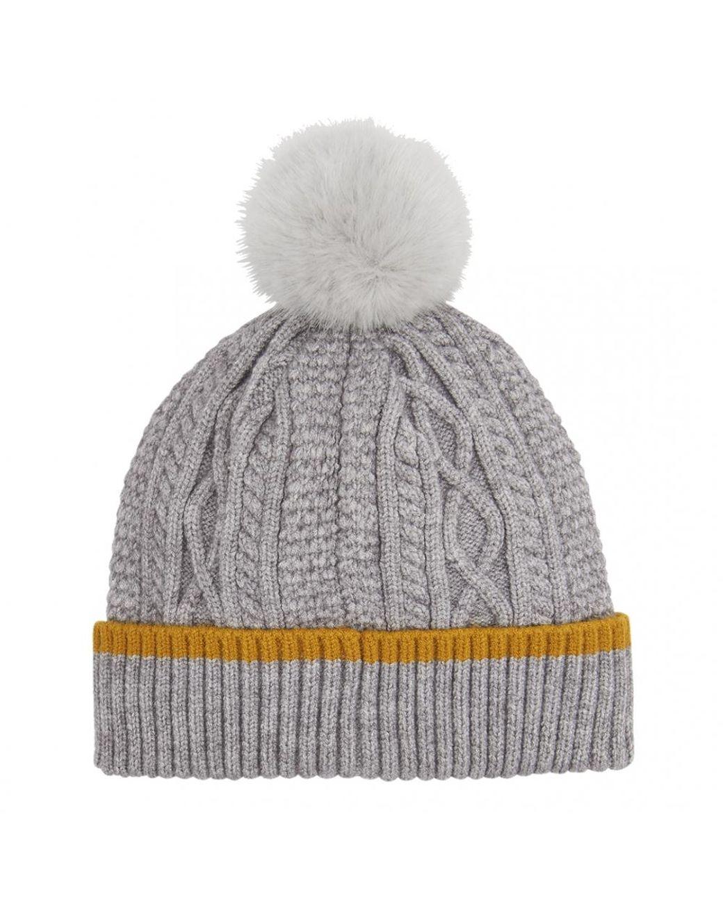 f5bfa6f8e Gray Anya Womens Bobble Hat S/s