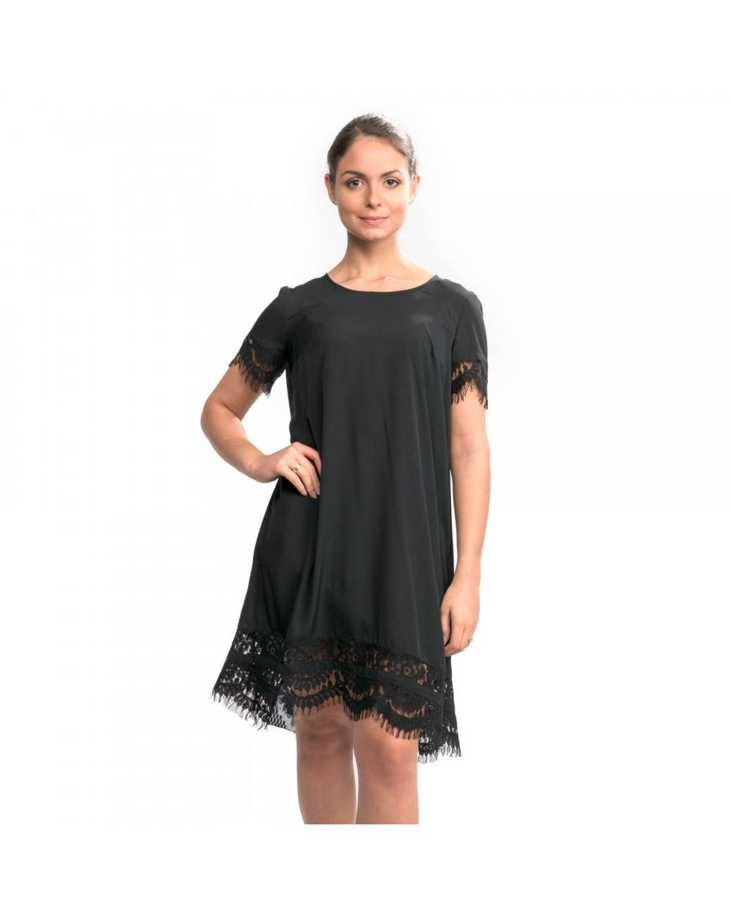 French Connection Womens Classic Crepe Light Woven Dress
