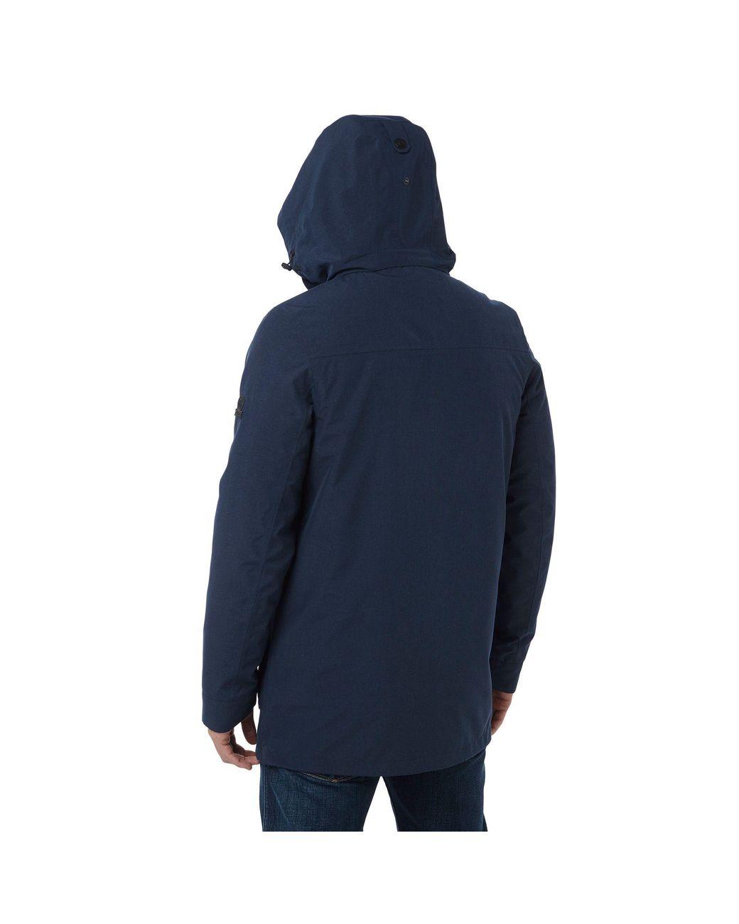 03077c7c0d1 Men's Blue Navy Marl Arkle Milatex 3in1 Jacket