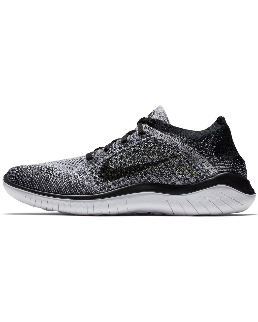 a7a791f1ad6d Lyst - Nike Free Rn Flyknit 2018 Running Shoes in Black for Men