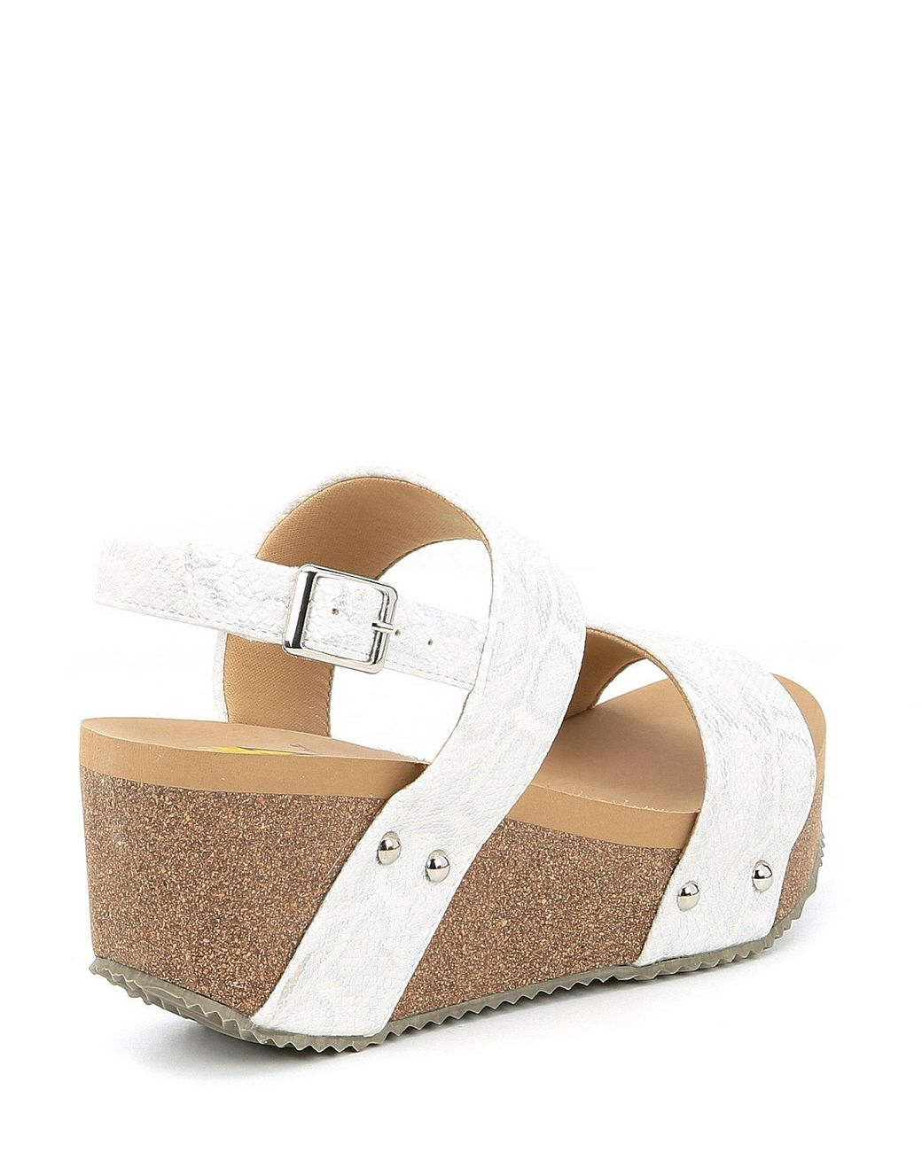 Love White Summer Wedge Sandals Snake Women's Sling Banded WD9IYHeE2b
