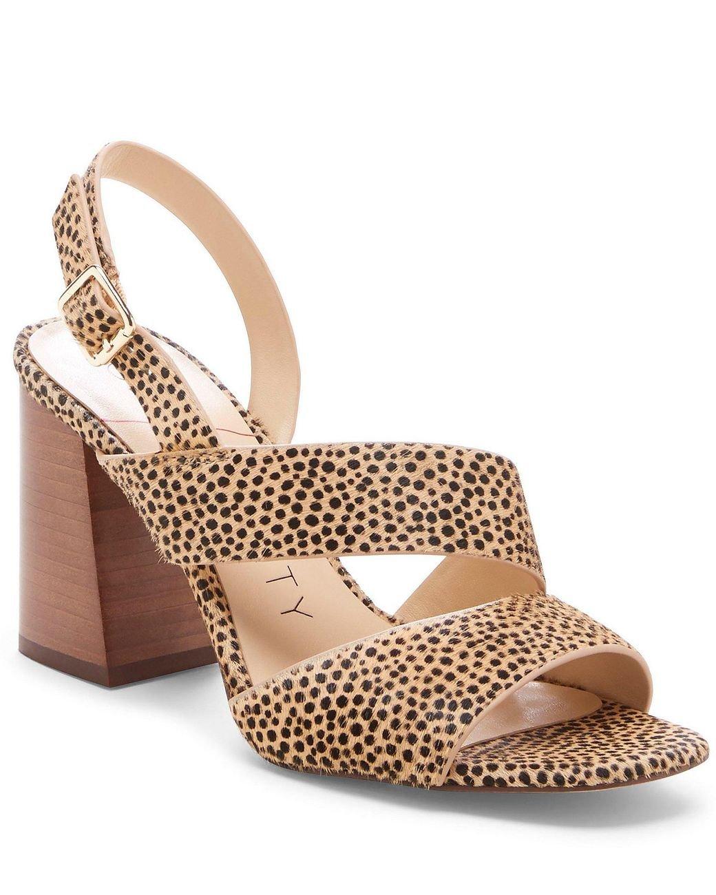 9e10456af33 Sole Society. Women s Jiya Dotted Calf Hair Block Heel Sandals