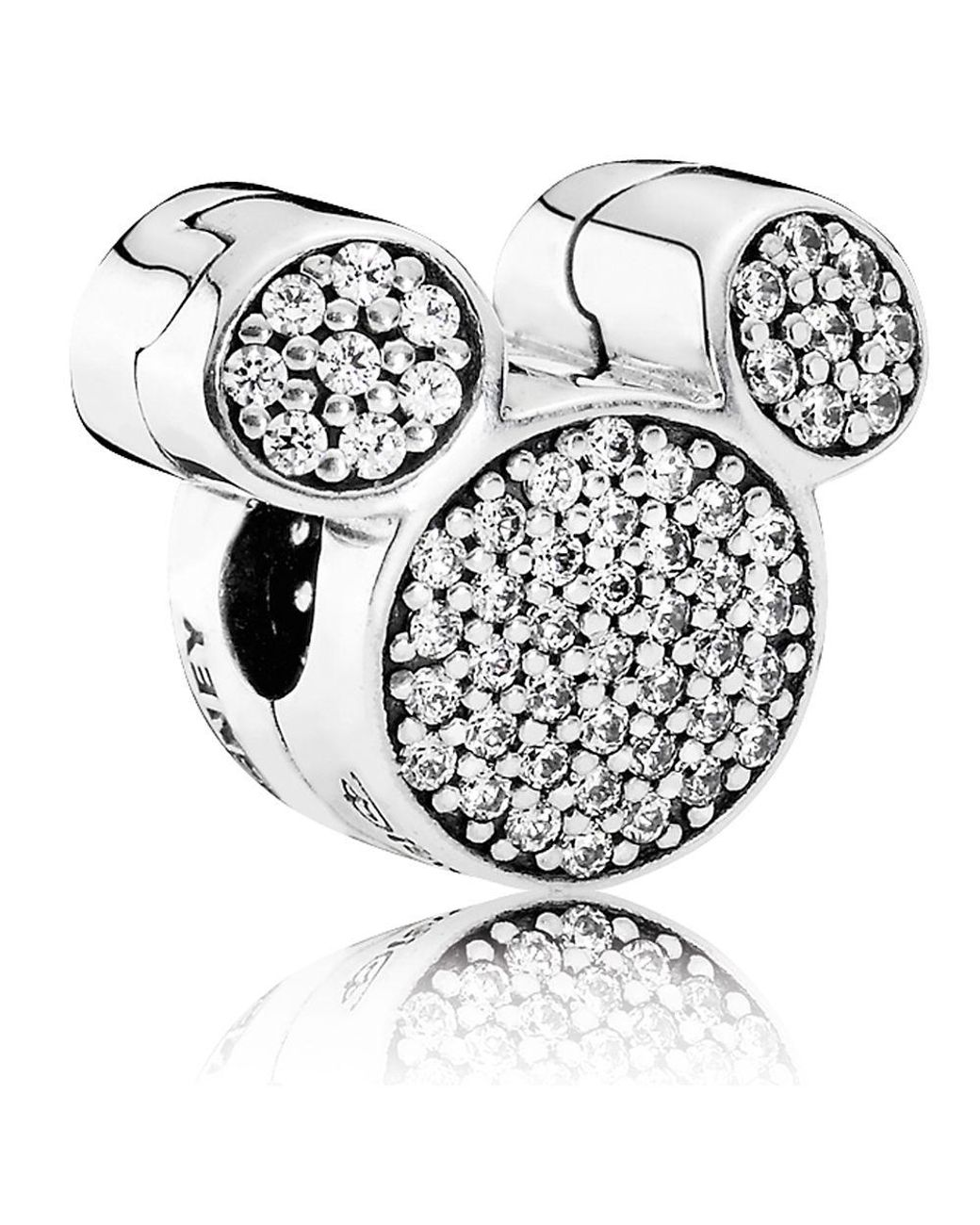 Pandora Mickey Mouse Ears Clip Lyst