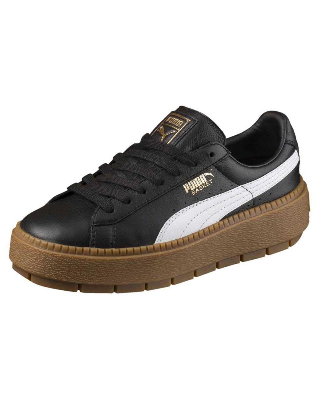 PUMA Platform Trace Sneakers In Black