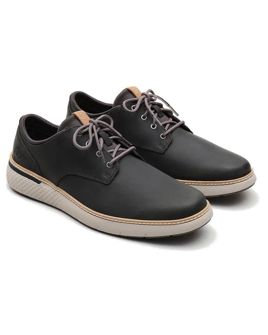 Timberland Leather Crossmark Plain Toe