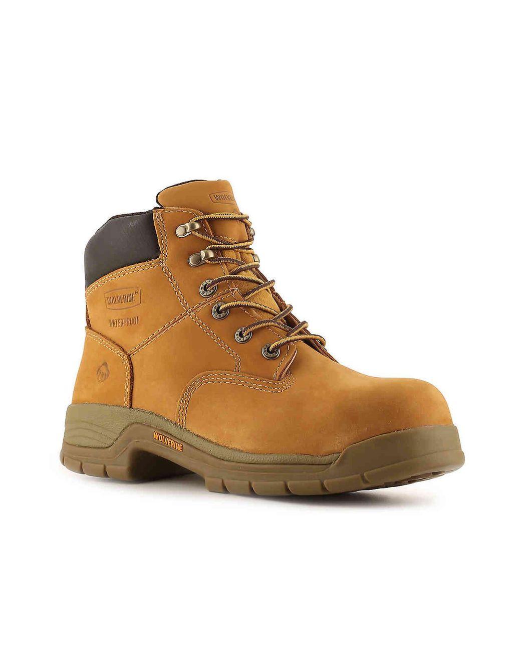 2bc77b983cb Men's Yellow 5065 Steel Toe Work Boot
