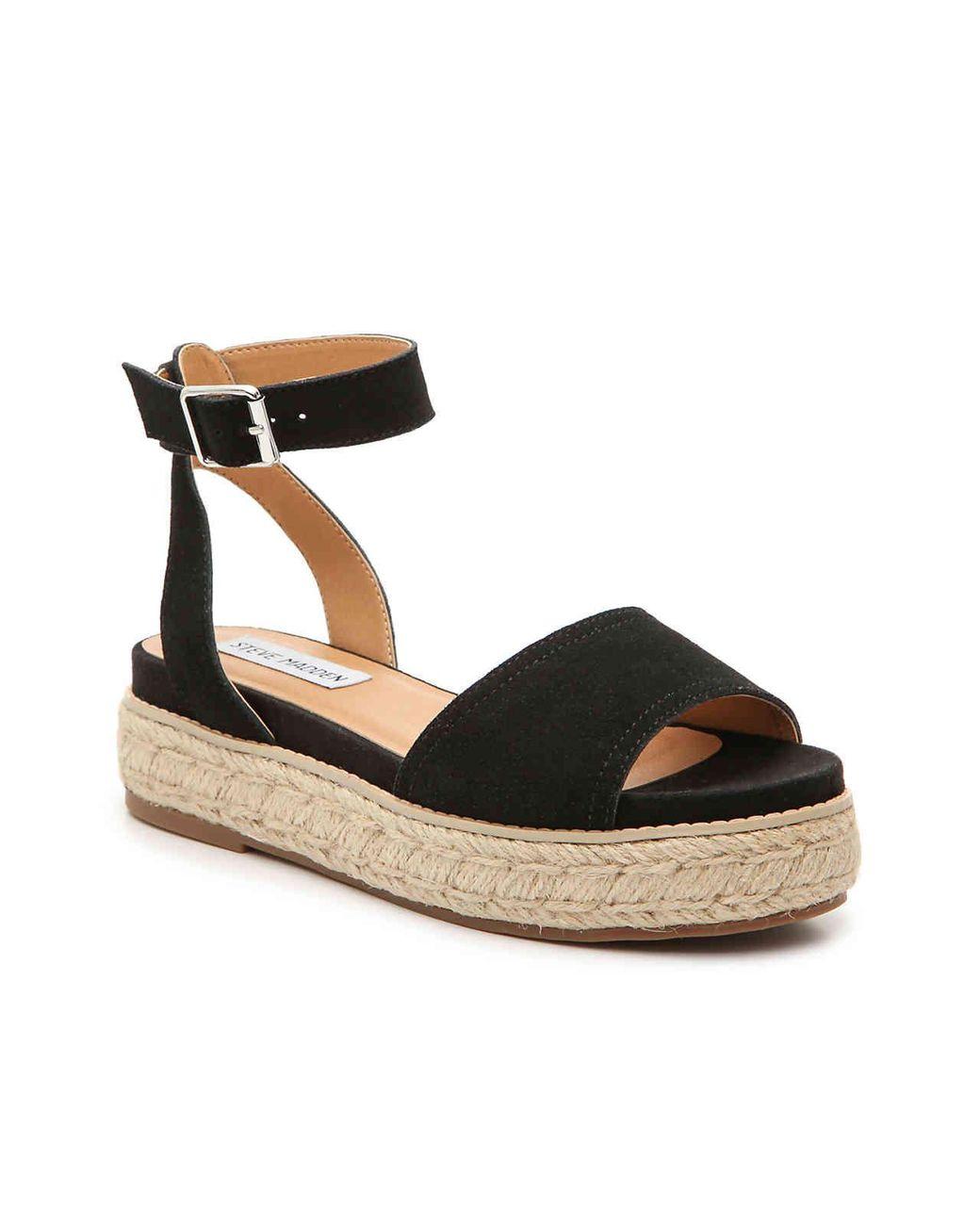 63cf3222b33 Women's Black Gabi Espadrille Platform Sandal