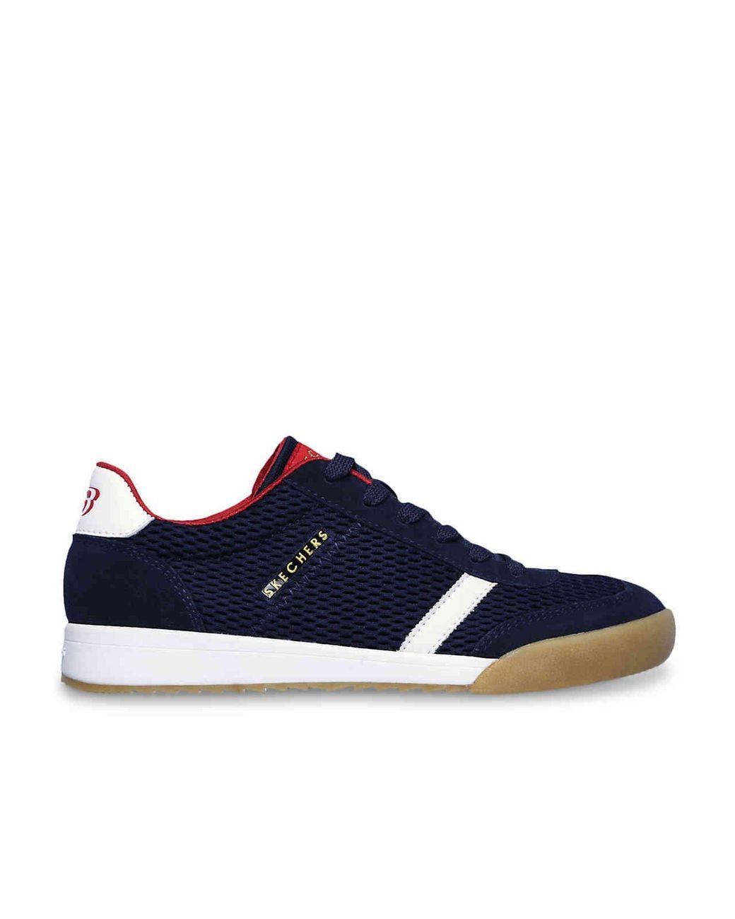 Women's Blue Zinger Mesh You Sneaker