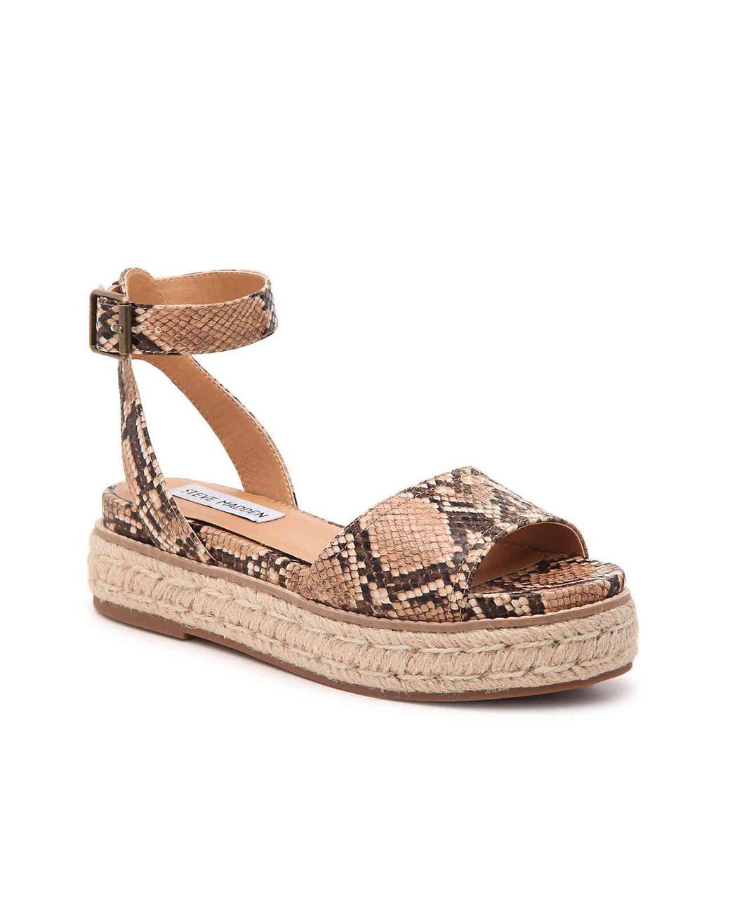 fd890cb06f1 Women's Brown Gabi Espadrille Platform Sandal
