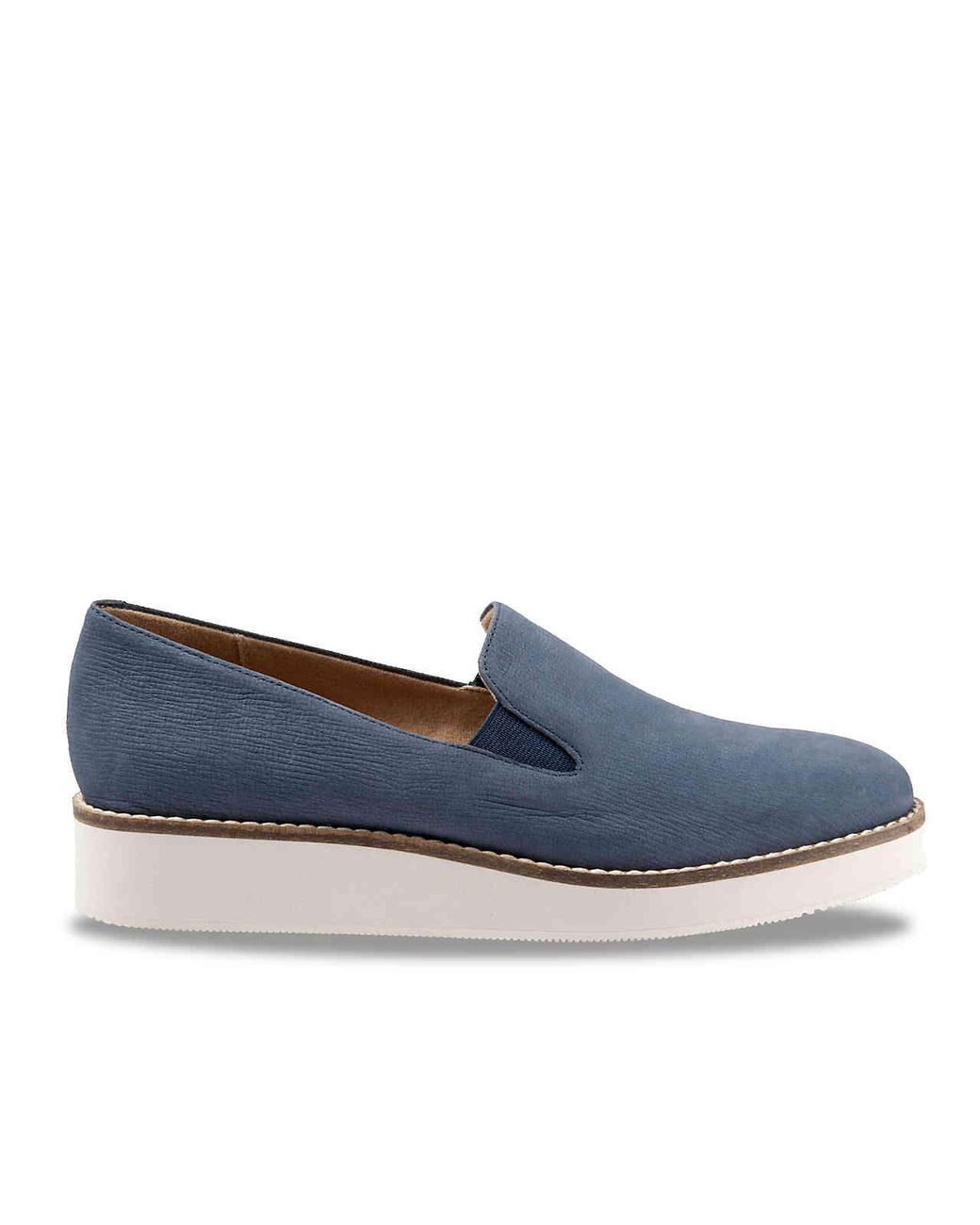 Softwalk Leather Whistle Wedge Loafer