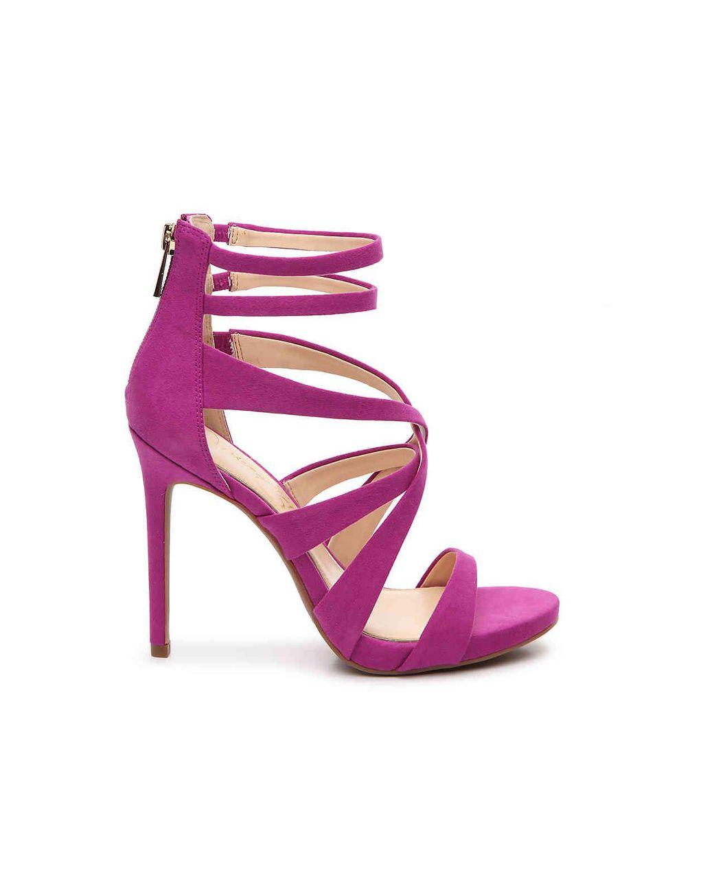 d0c91ecf5b4d Lyst - Jessica Simpson Rayomi Platform Sandal in Pink