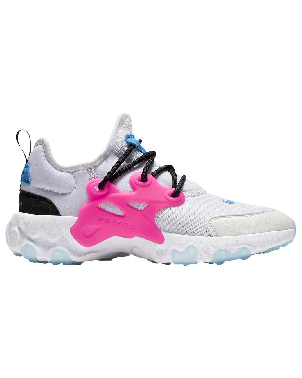 watch cc434 3730d Men's Pink React Presto Running Shoes
