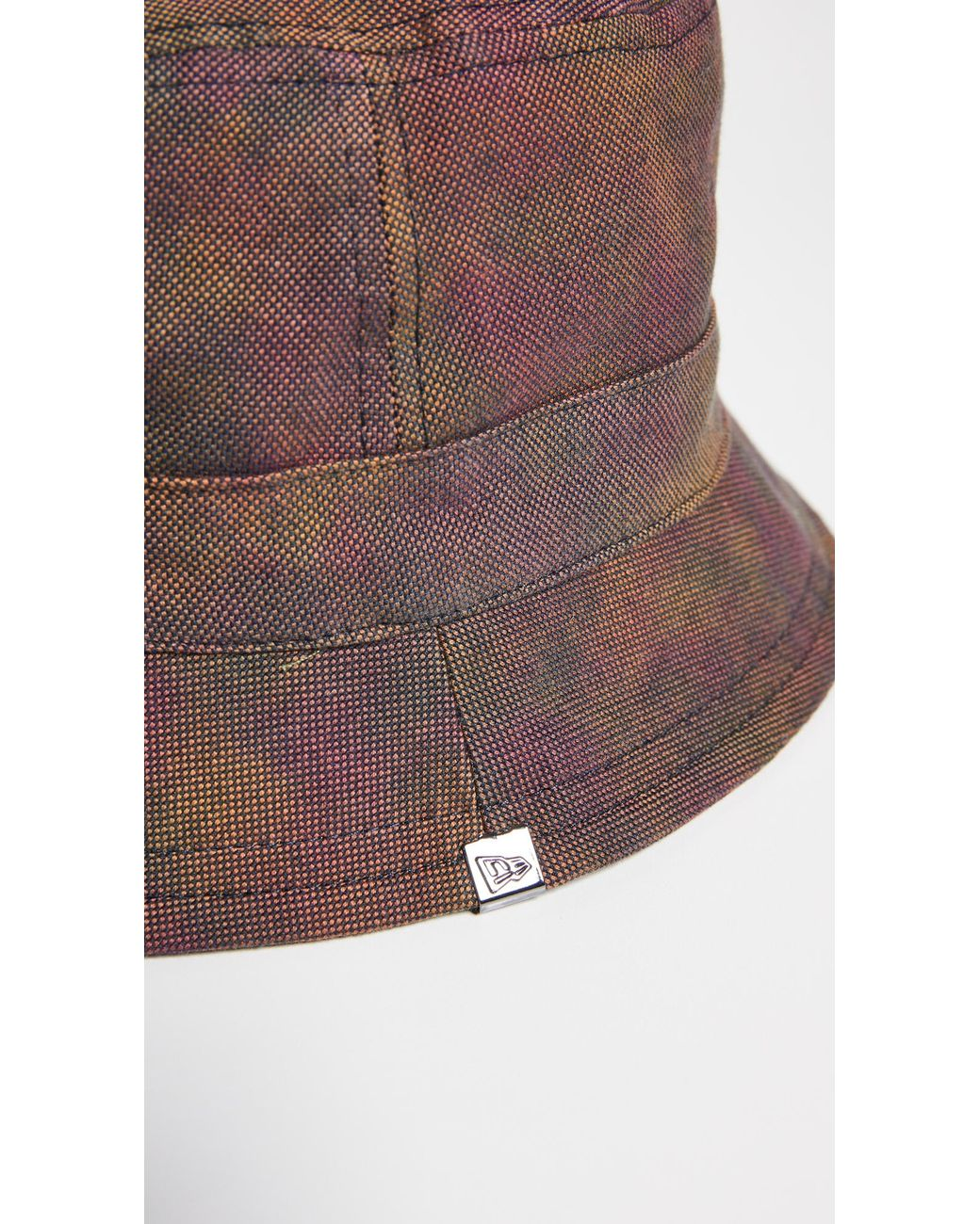 a2327580d KTZ Dyed Oxford Reversible Bucket Hat in Pink for Men - Lyst