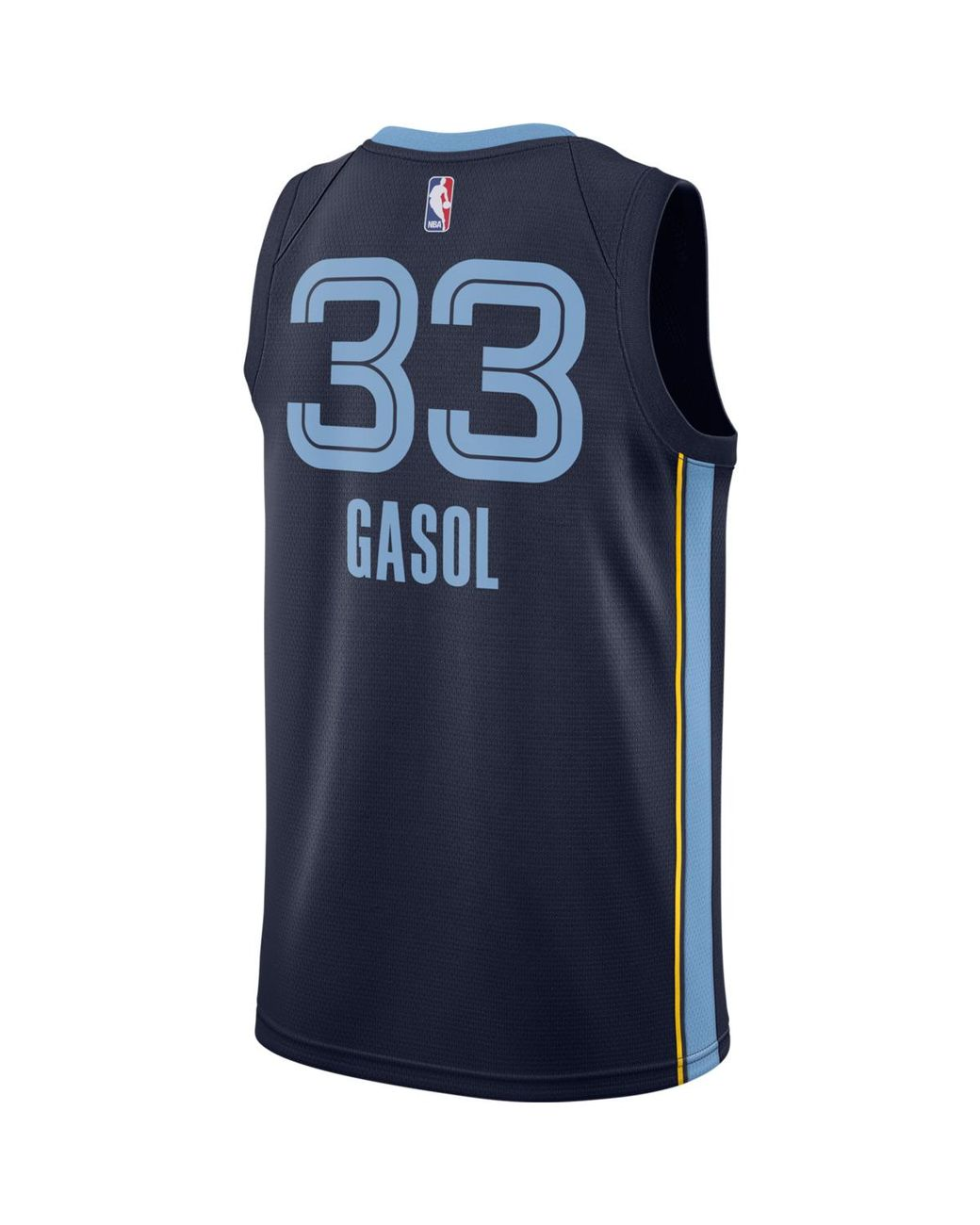 best sneakers 3efec d5068 Men's Blue Memphis Grizzlies 2018-2019 Marc Gasol Icon Edition T-shirt