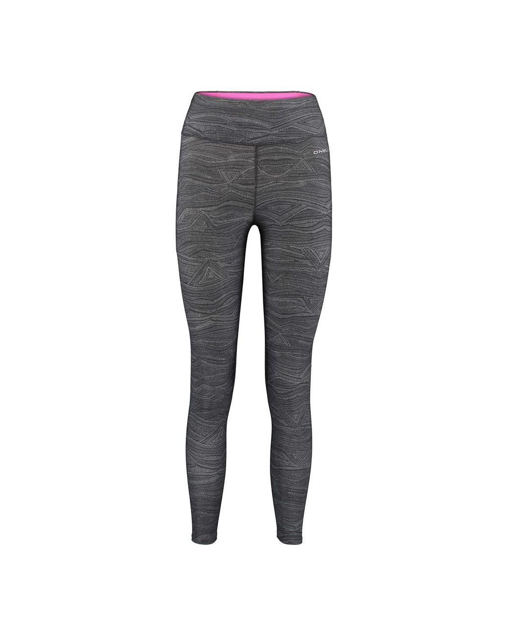 O Neill Printed Leggings 7//8/Length Pants