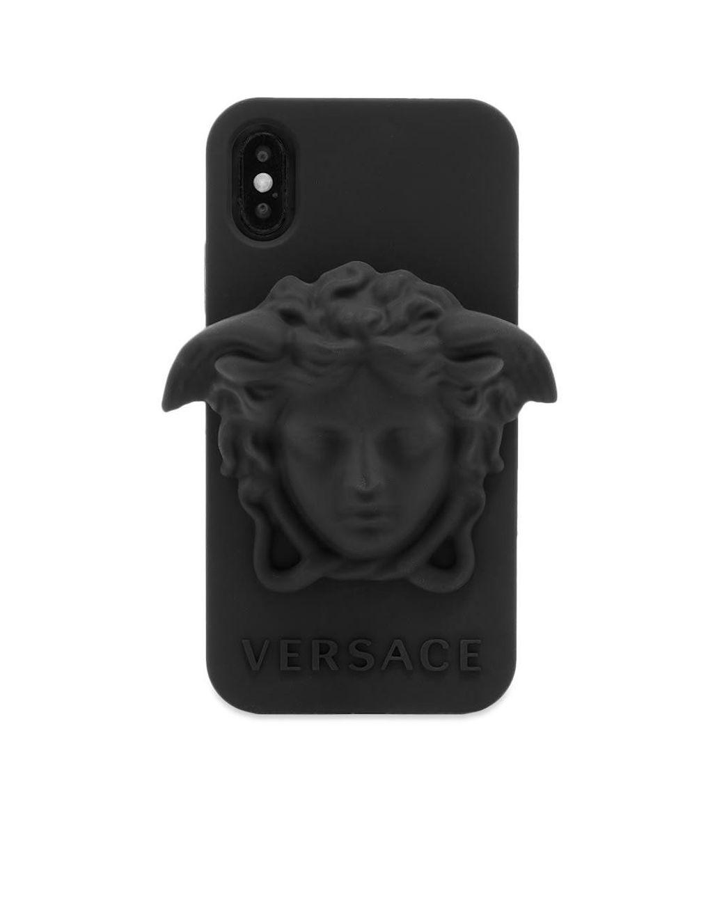Custodia Medusa per iPhone X in silicone - Versace Uomo  Shop