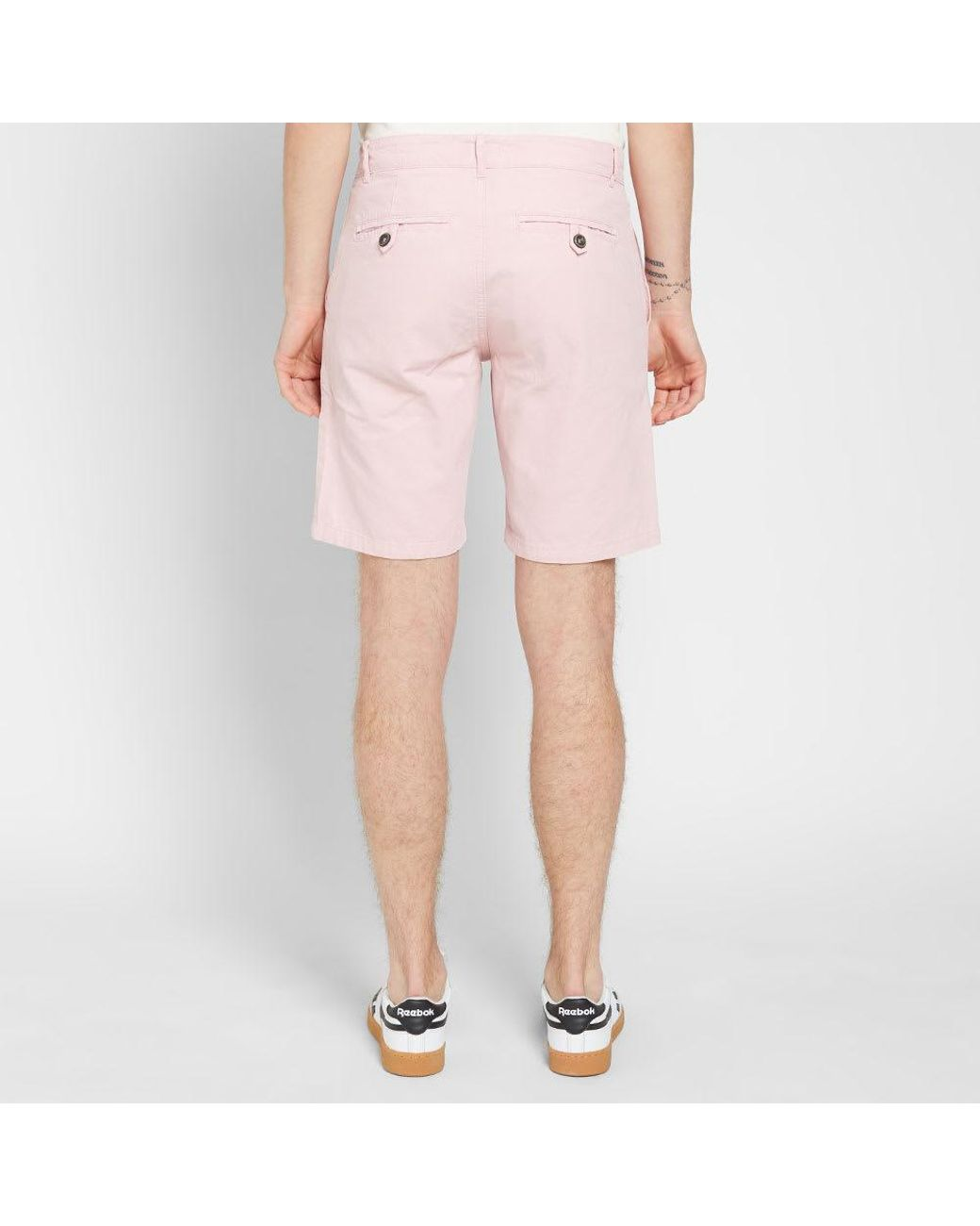 best website factory outlet new concept Armor Lux Cotton 77366 Bermuda Short in Pink for Men - Lyst