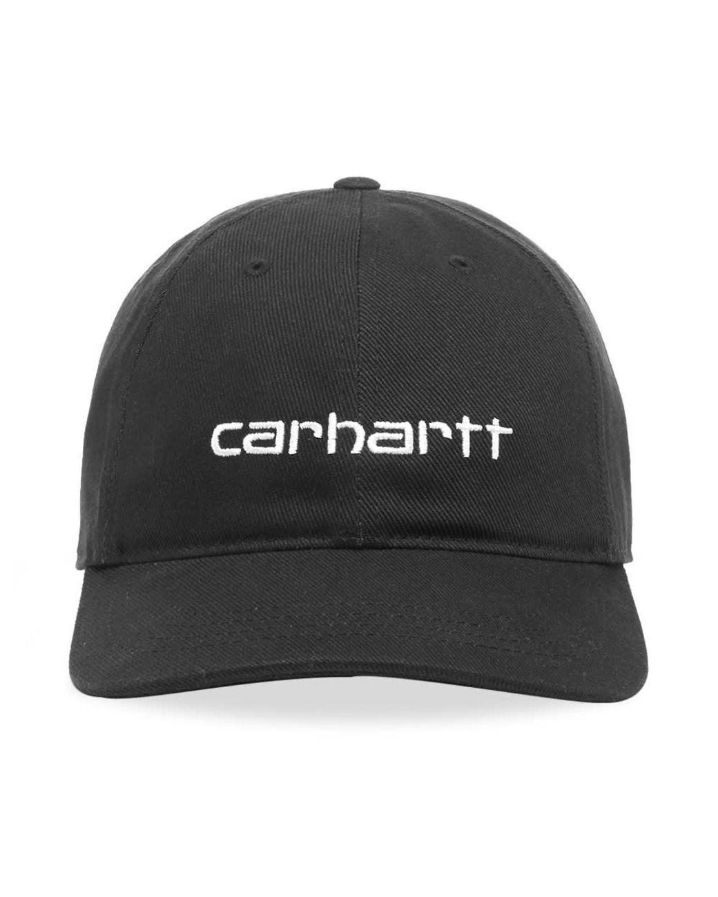 all'ingrosso online stile classico arrivato Carhartt WIP Cotton Carter Cap in Black for Men - Lyst