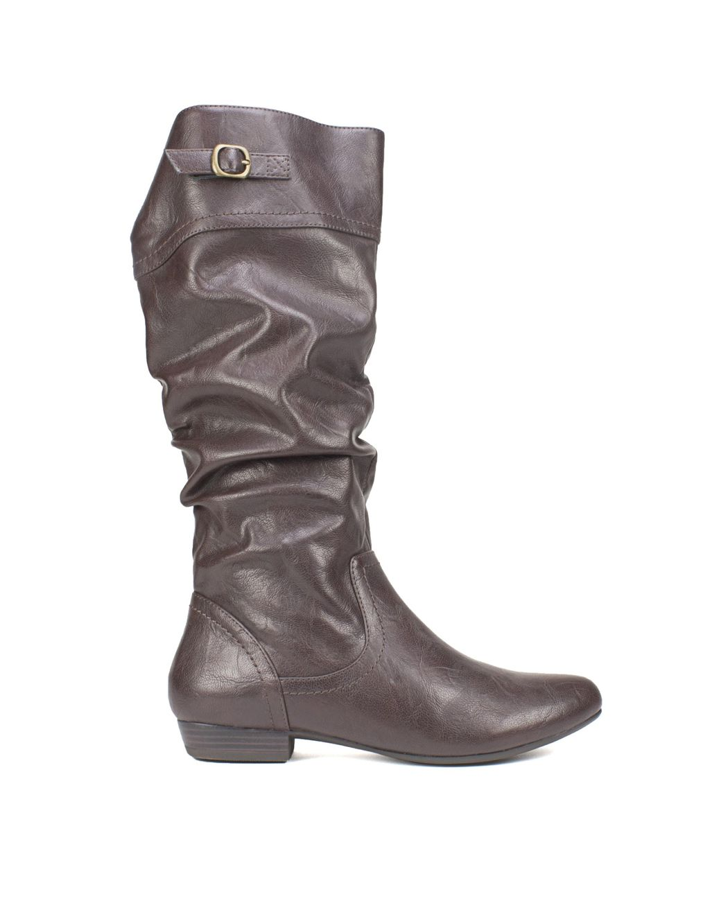 Women S Brown Fox Wide Calf Wide Boots