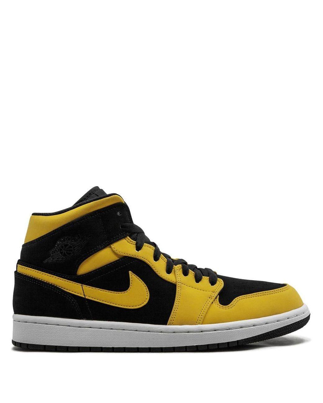 TD Reverse New Love Size 10c Black // University Gold White Jordan 1 Mid