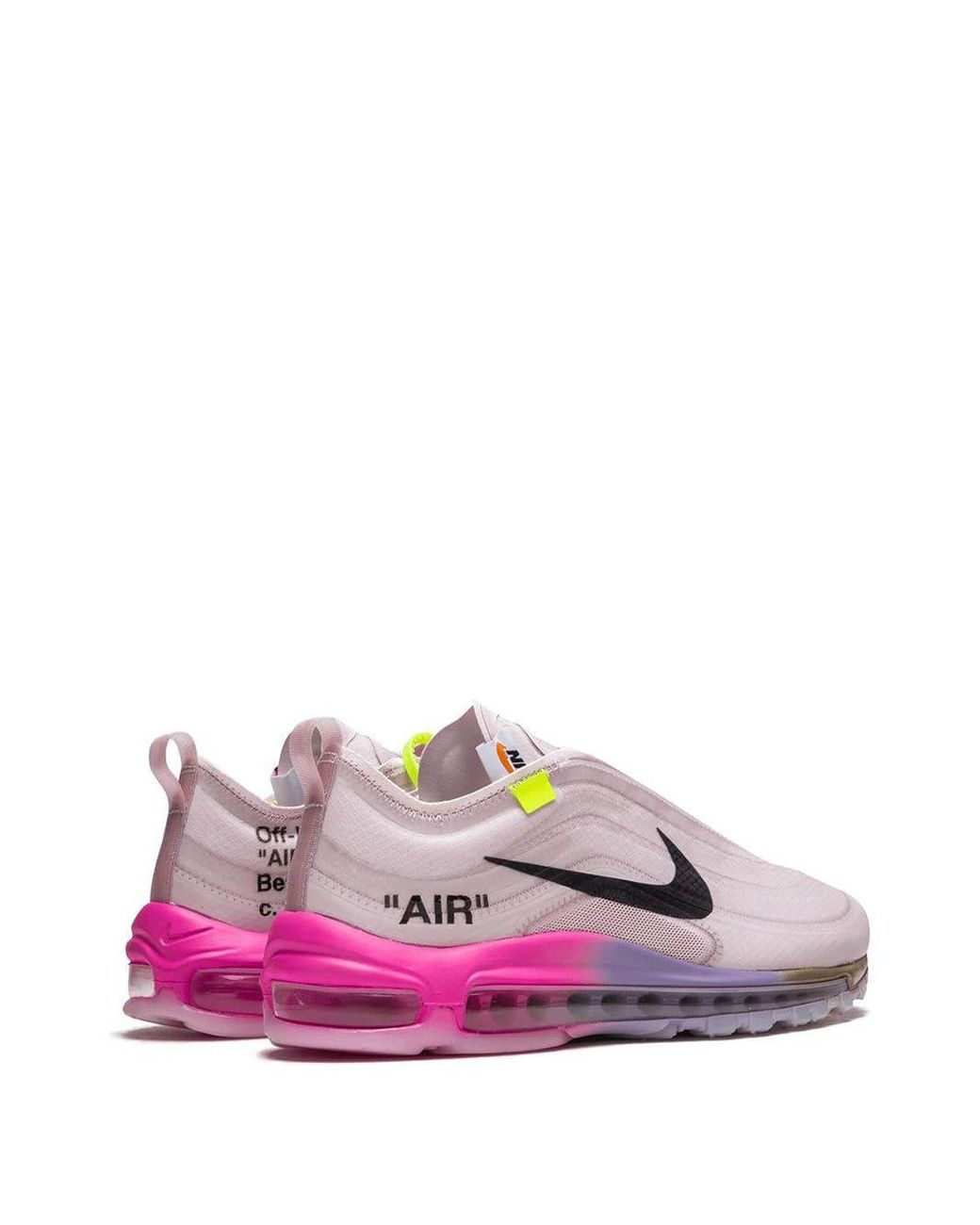 Nike Rubber X Off white The 10: Air Max 97 Og Sneakers in
