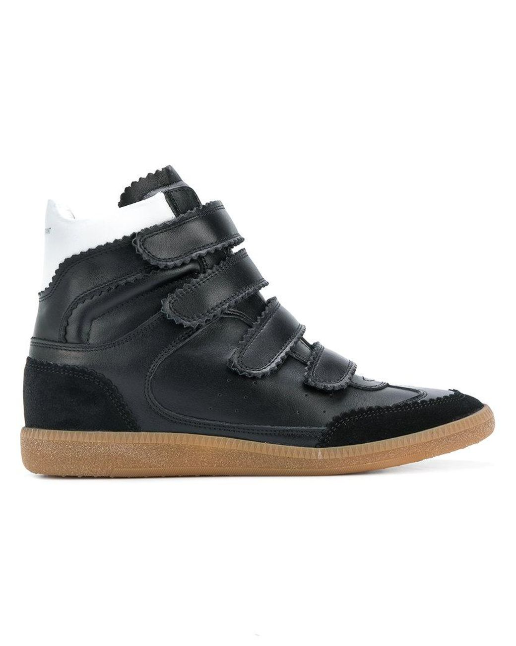 e446c5ef448 Isabel Marant Bilsy High-top Sneakers in Black - Lyst