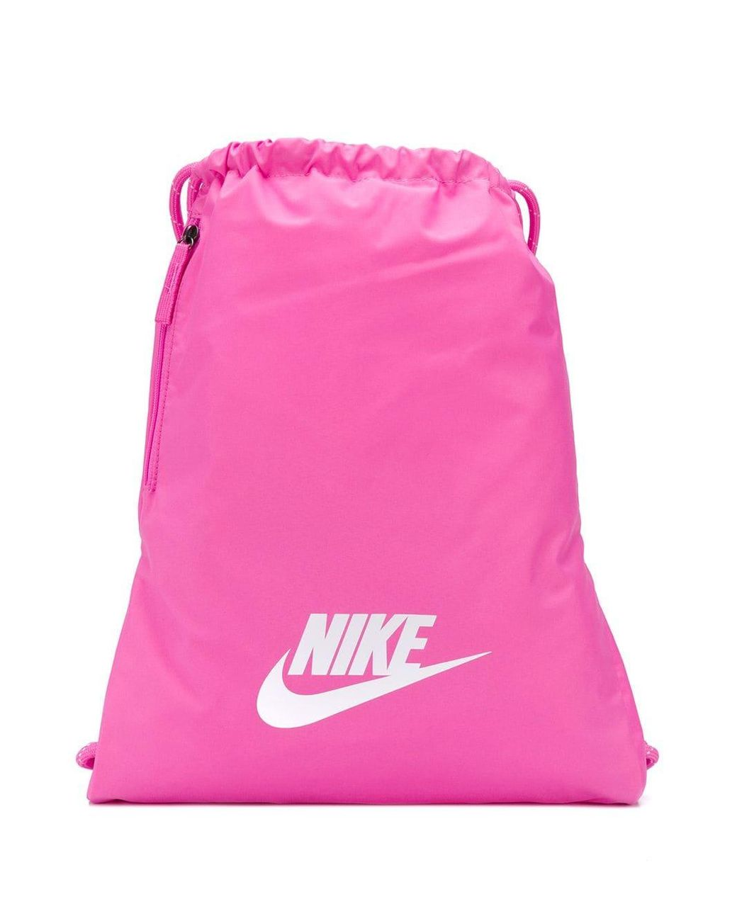 Nike Drawstring Backpack In Pink Lyst