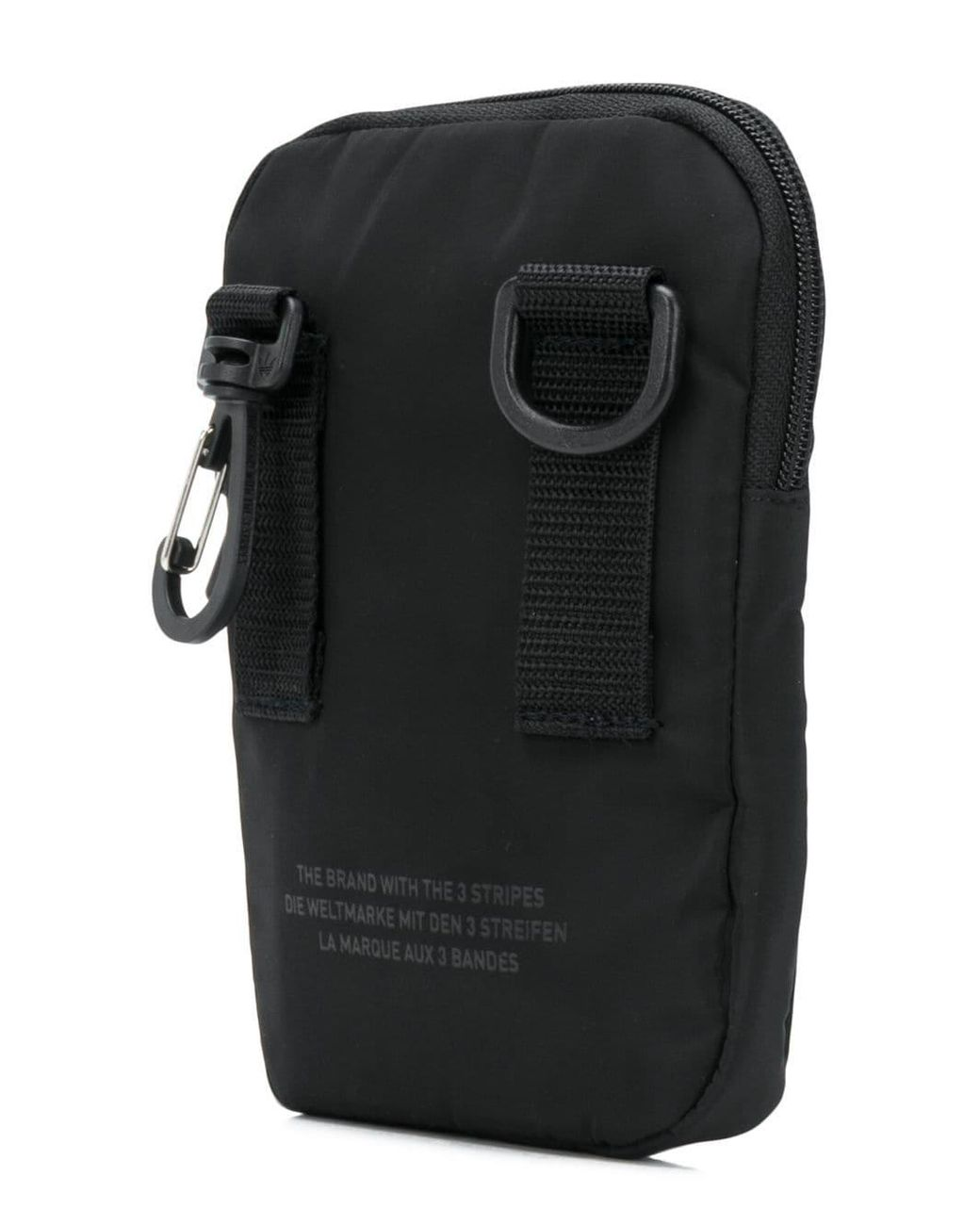 5b27cc9e7b7 adidas Shell Crossbody Bag in Black - Lyst