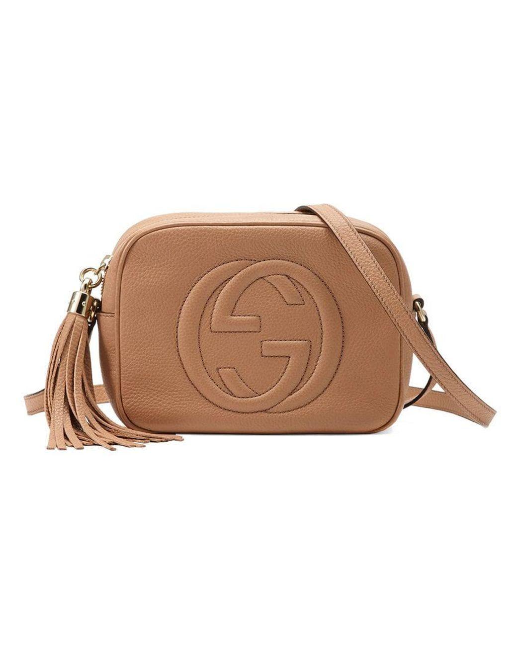 cf4039266dd1 Gucci Soho Small Leather Disco Bag - Save 4% - Lyst