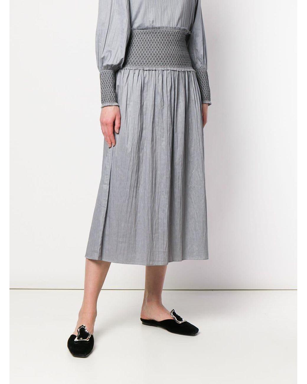 Ladies Women/'s Sparkly Glitter Lurex Elasticated Flared Swing Skirt Plus Size