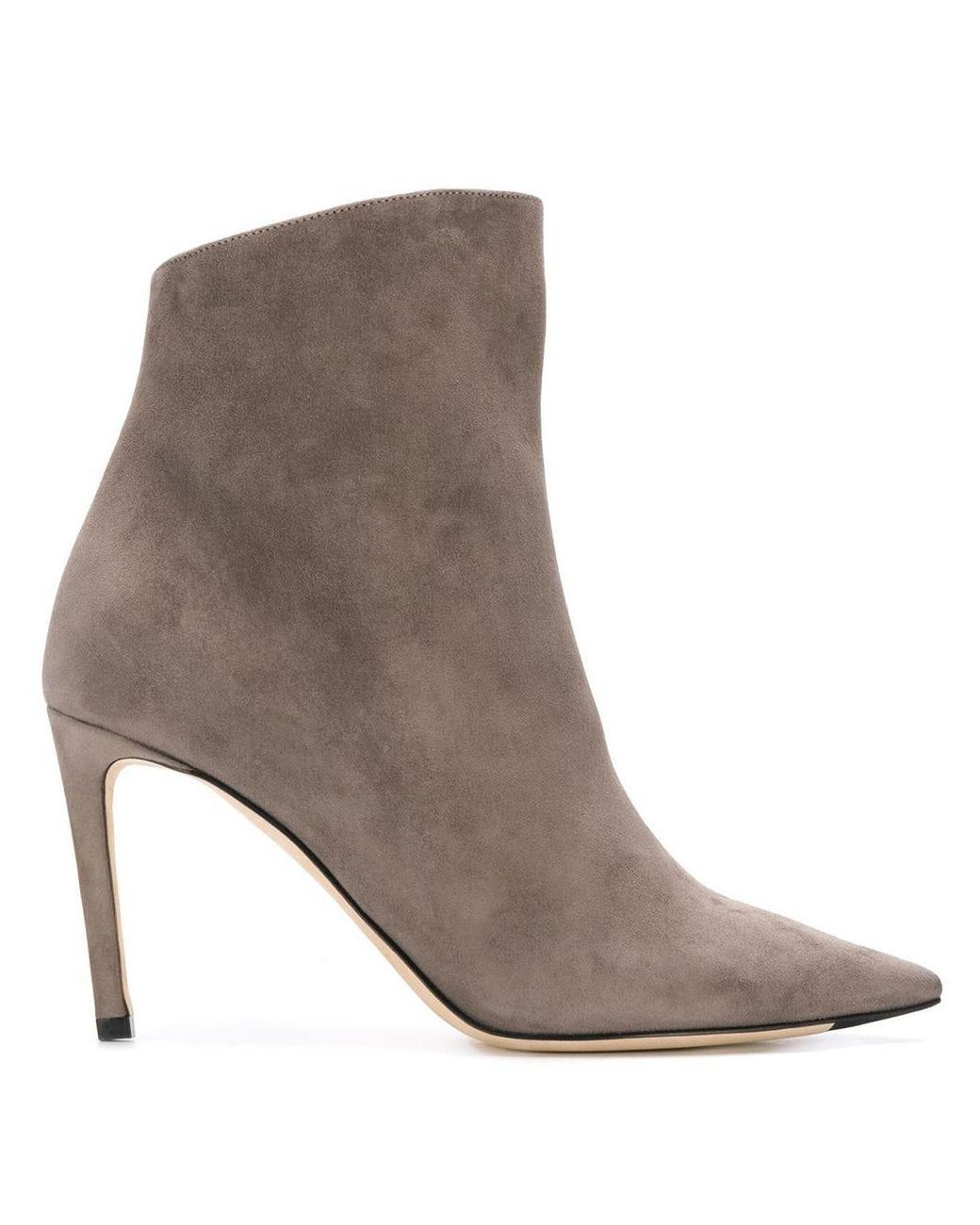 Jimmy Choo Suede Helaine 85 in Grey (Gray) Save 36% Lyst