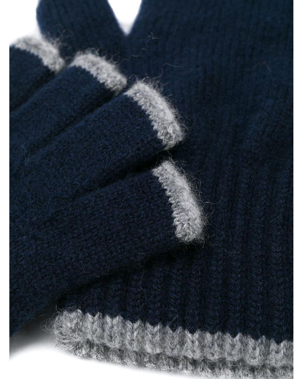 John Varvatos Men/'s Marled Black Fingerless Knit Gloves