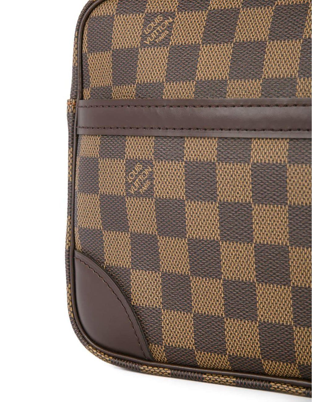 785dd810a46 Louis Vuitton Pre-Owned Trocadero Shoulder Bag in Brown - Lyst