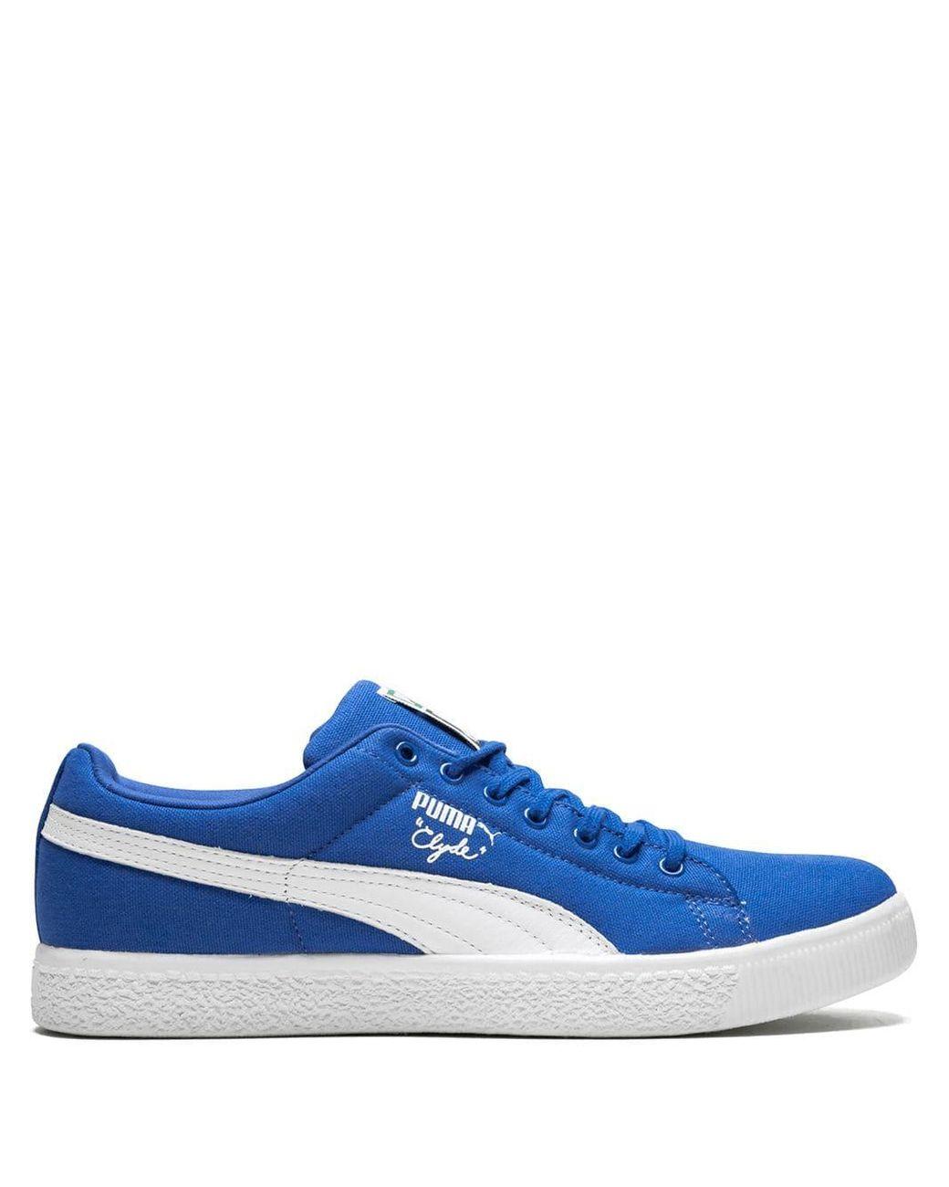 timeless design 8b0b1 49e9d Men's Blue Clyde X Undftd Sneakers