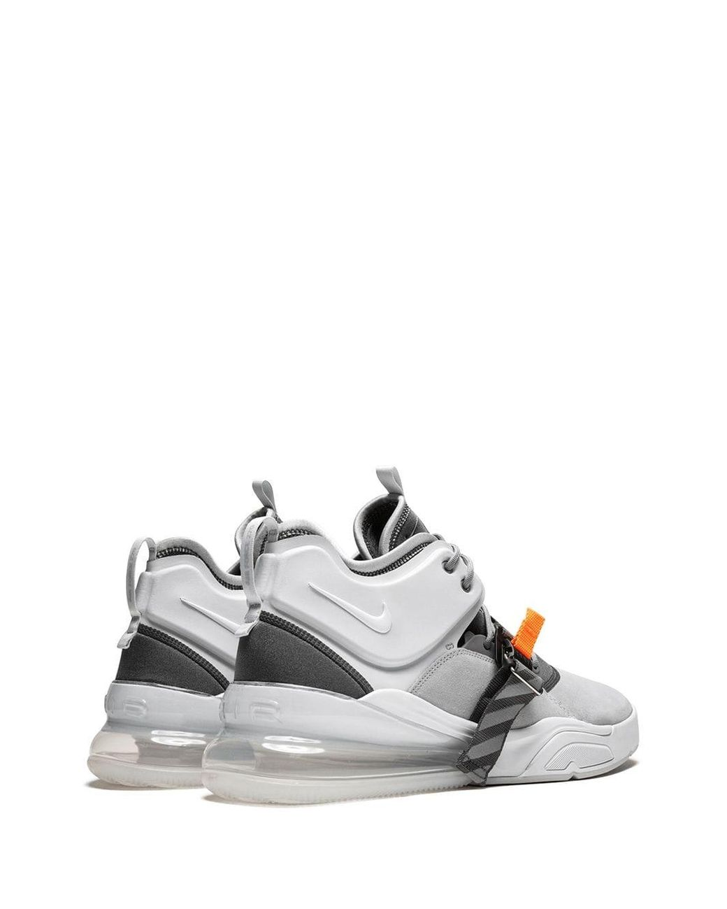 finest selection 2f4ef 795ad Men's Gray Air Force 270 Sneakers