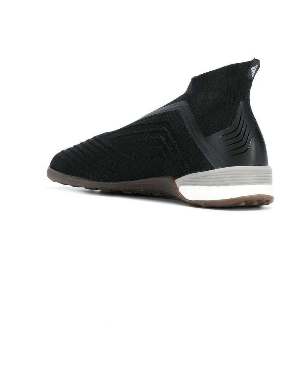 online store cd9c1 aeb45 Men's Black X Adidas Predator Sneakers