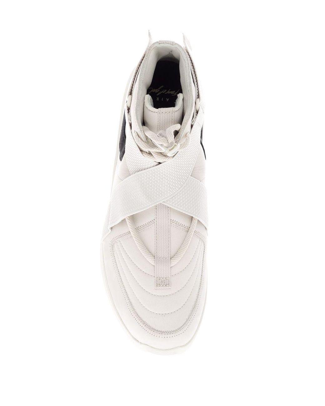 Nike Cross Strap Sneakers in White for