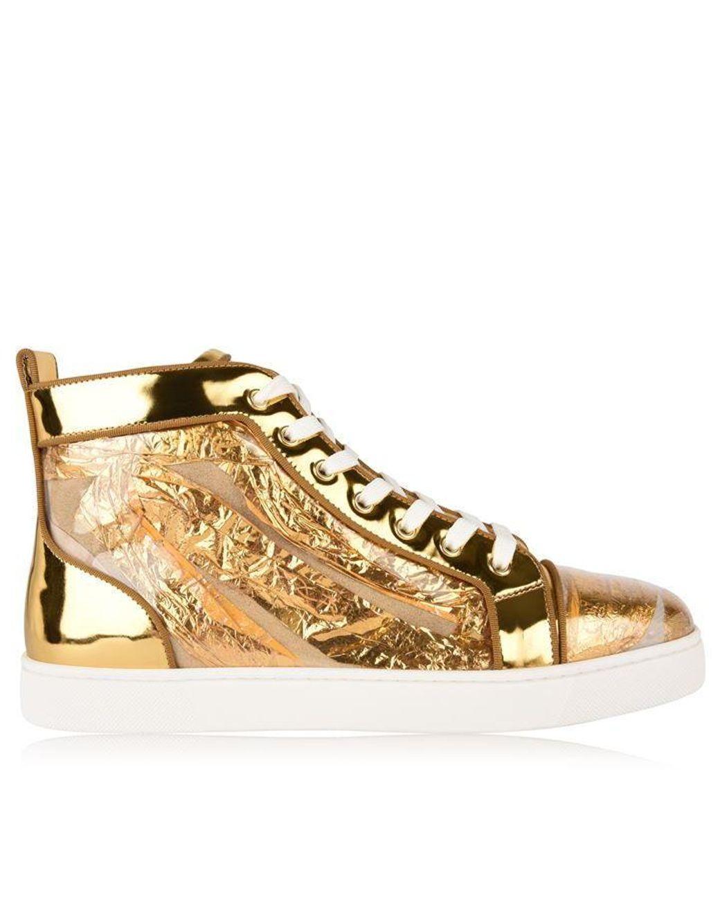 ee72d35fa16 Men's Metallic Louis Ruban High Top Sneakers