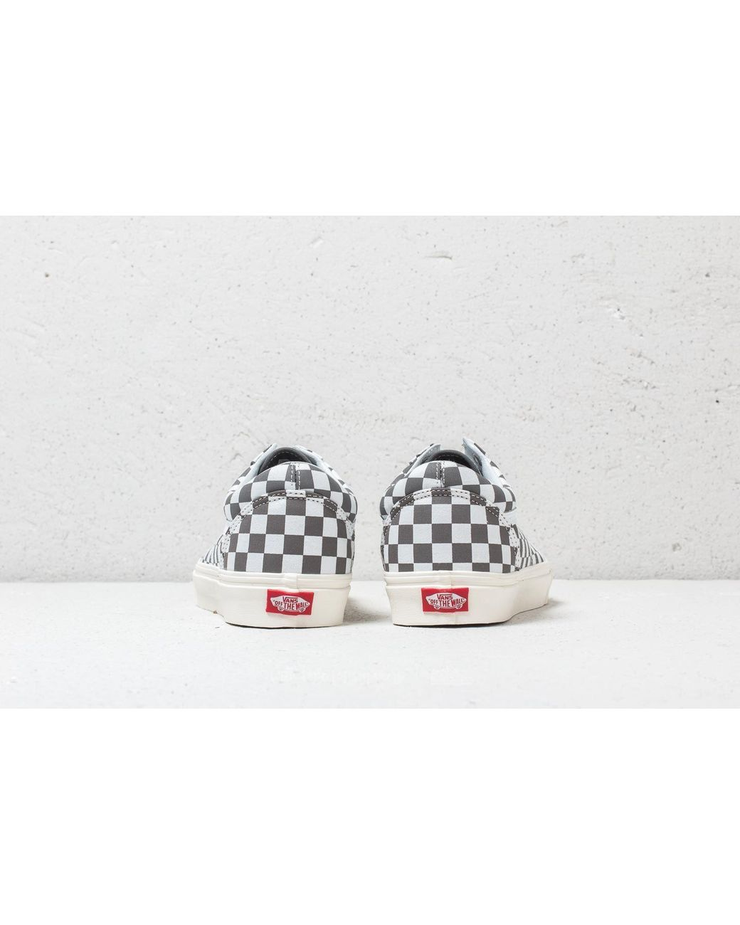 Vans Old Skool Schuh (checkerboard pewter marshmallow)