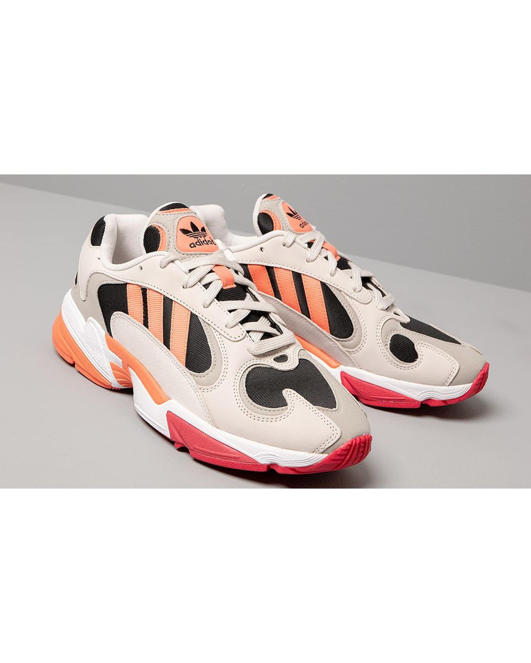 mens pink adidas yung 1 trainers cheap