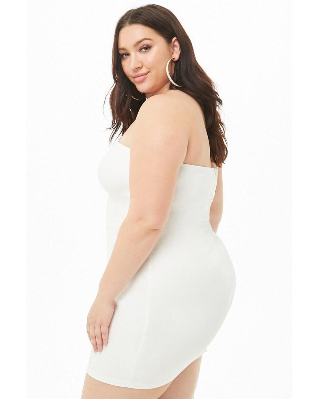 White Dress Forever 21 Plus - raveitsafe