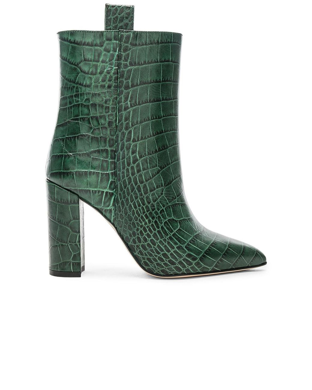 online store 8b5a2 e2389 Women's Green Ankle Boot