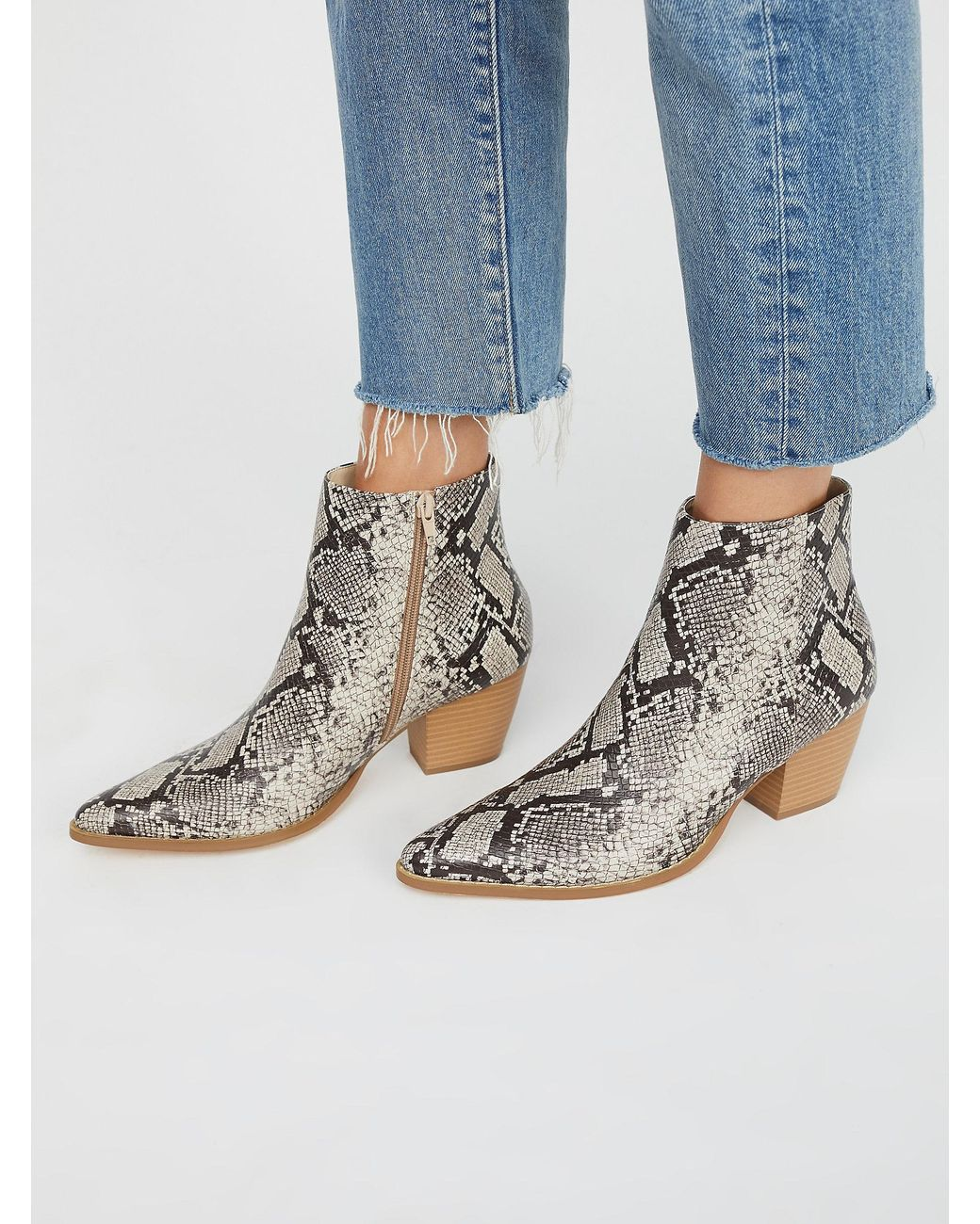 Leather Vegan Going West Boot - Lyst
