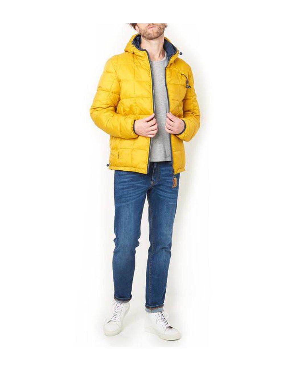 mignon pas cher nouvelle version En liquidation Doudoune Chill homme de coloris jaune