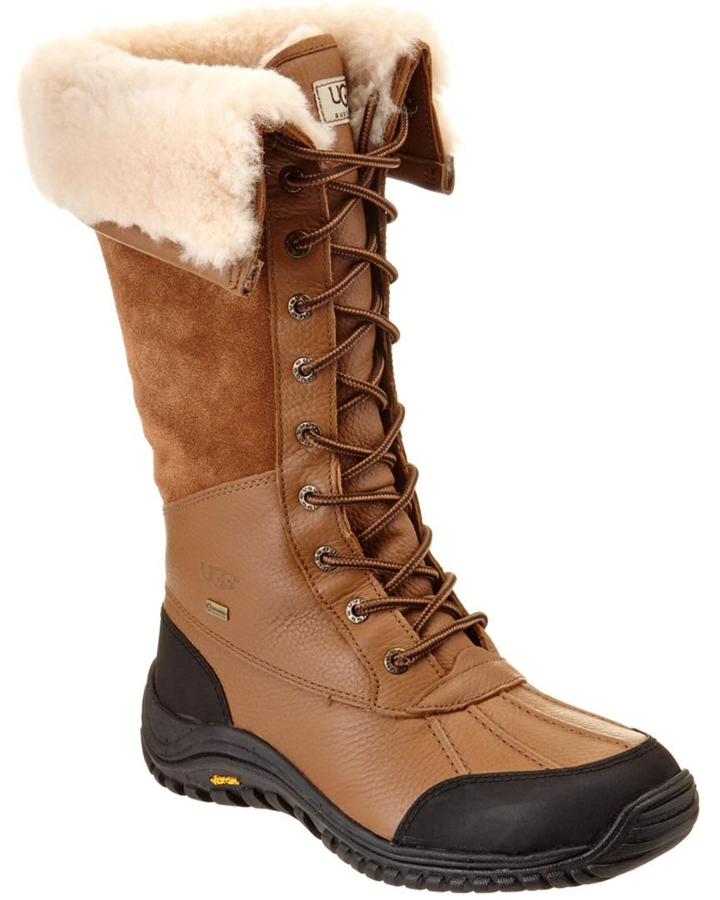 90b28281b65 Brown Women's Adirondack Waterproof Leather Tall Boot