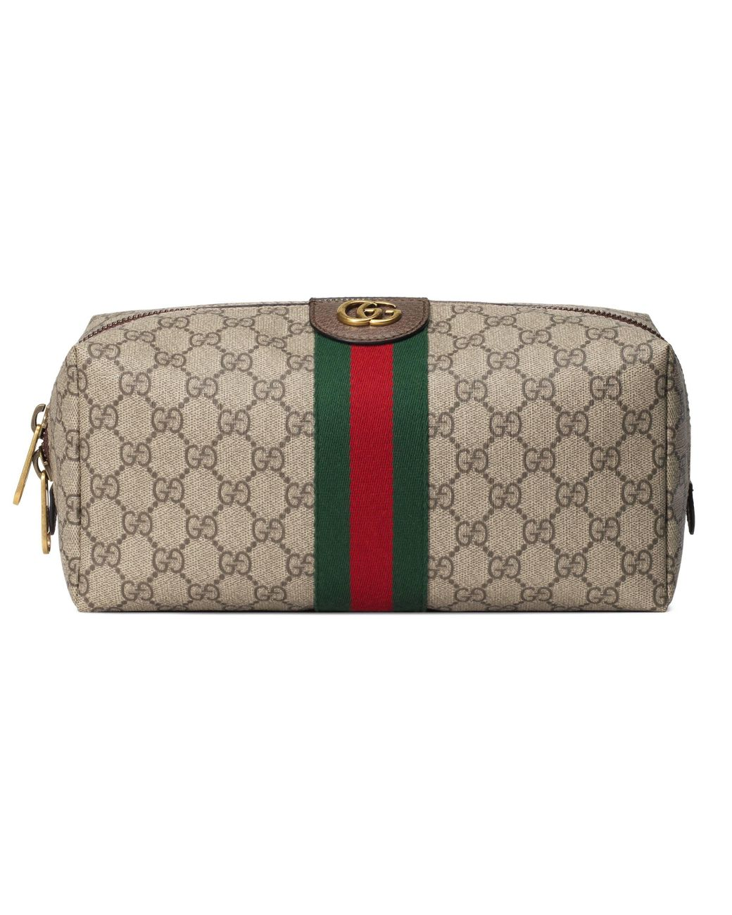 Gucci Synthetic Ophidia Gg Toiletry Case In Beige Natural For Men Lyst