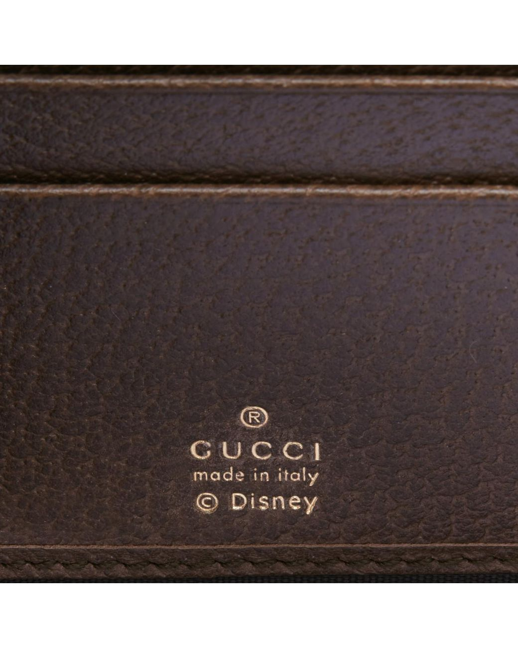8dfd5f641e1219 Gucci Zip Around Wallet With Three Little Pigs in Brown for Men - Lyst