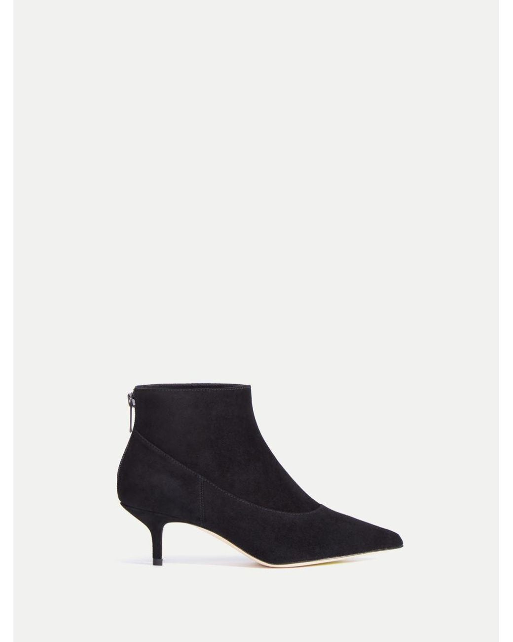 BRAND NEW HALSTON HERITAGE SHEILA BLACK SUEDE  BOOT COACH $438 REDUCED PRICE