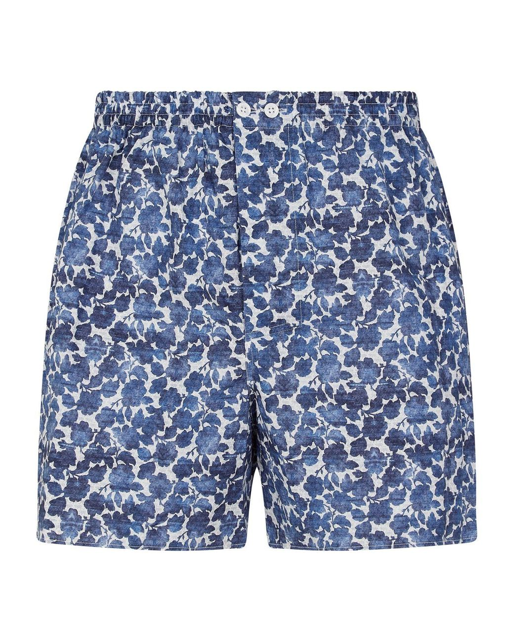Zimmerli Mens Blue Pattern Boxers
